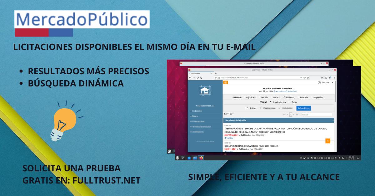 Licitaciones Mercado Público